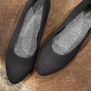 Baubax Sustainable Black Dress Low Heels